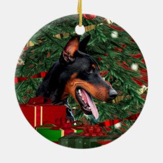 Doberman Pinscher Christmas Christmas Ornament