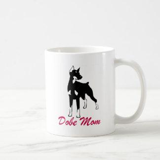 Doberman Pinscher Dobe Mom Coffee Mug