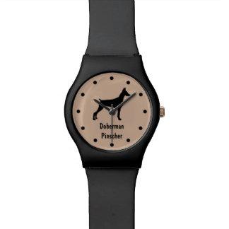 Doberman Pinscher Dog Breed Wristwatch