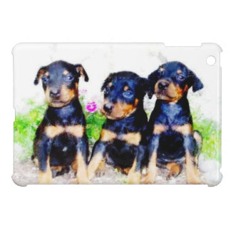 Doberman Pinscher dogs ipad mini case