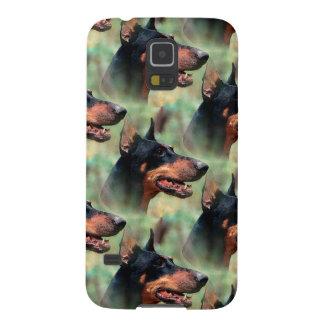 Doberman Pinscher in the Woods Galaxy S5 Cover