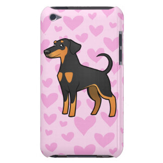 Doberman Pinscher Love (floppy ears) Barely There iPod Cases