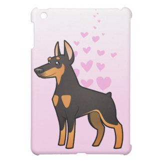 Doberman Pinscher Love (pointy ears) iPad Mini Covers