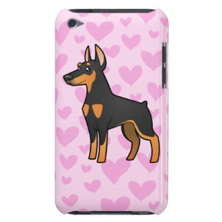 Doberman Pinscher Love (pointy ears) iPod Touch Covers