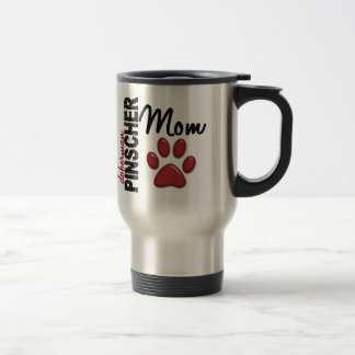 Doberman Pinscher Mom 2 Travel Mug