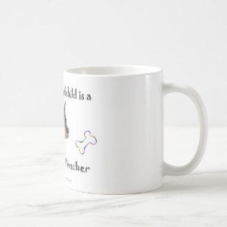 doberman pinscher - more breeds coffee mug