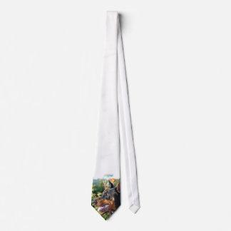 Doberman Pinscher Necktie