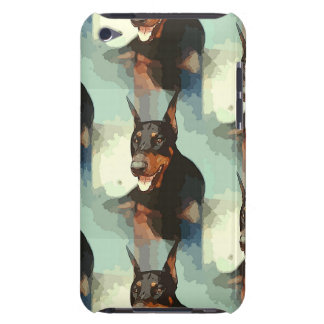 Doberman Pinscher Portrait Barely There iPod Case