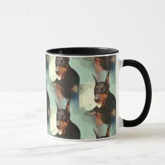 Doberman Pinscher Portrait Mug