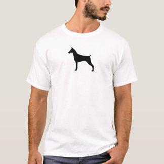 Doberman Pinscher Silhouette T-Shirt