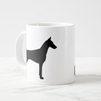 Doberman Pinscher Silhouettes Large Coffee Mug