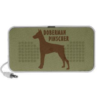 Doberman Pinscher Notebook Speaker