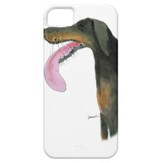 Doberman Pinscher, tony fernandes iPhone 5 Cover