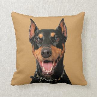 Doberman Portrait - Megyan Cushions