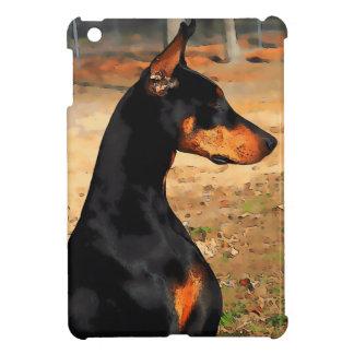 Doberman Profile iPad Mini Case (v 9-3)