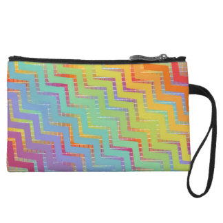 Doberman Rainbow Clutch bag Wristlet Clutches