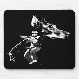Doberman Schutzhund Design Mousepads