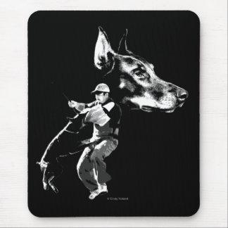 Doberman Schutzhund Design Mouse Pad