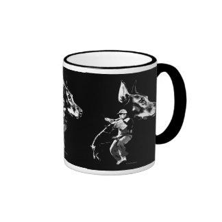 Doberman Schutzhund Design Ringer Mug
