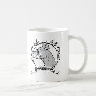Doberman T-shirt Mug