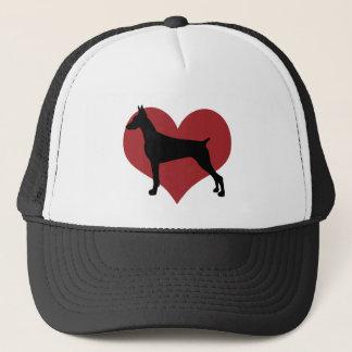 Doberman Trucker Hat