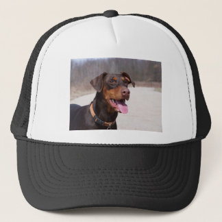 Doberman Trucker Hat