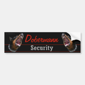Dobermann Security sticker