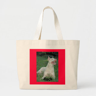 Dobermans ROCK Large Tote Bag