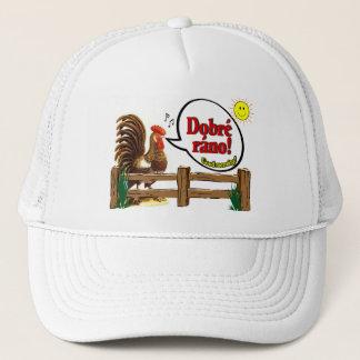 Dobré ráno!  Good morning in Czech! Trucker Hat