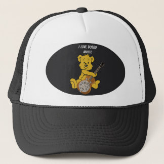 DOBRO BEAR -HAT TRUCKER HAT