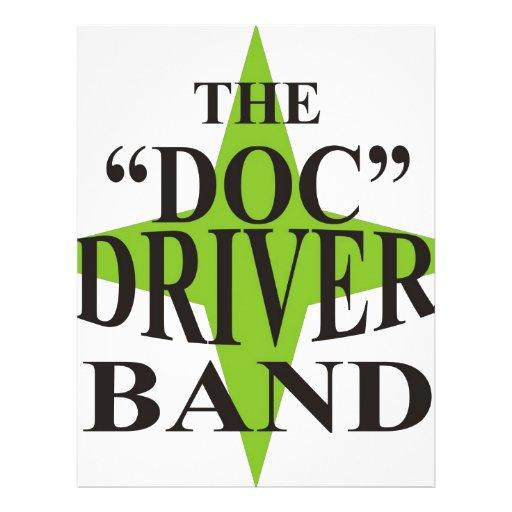 Doc Driver logo Flyer