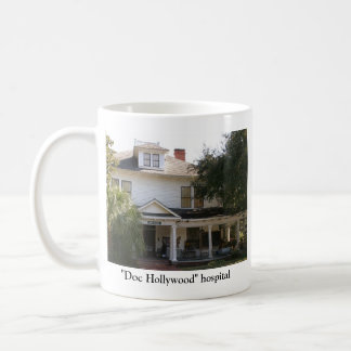 """""""Doc Hollywood"""" Hospital location Basic White Mug"""