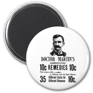 Doc Martins 6 Cm Round Magnet