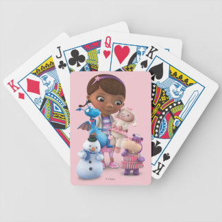 Doc McStuffins and Her Animal Friends Bicycle Playing Cards