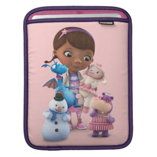 Doc McStuffins and Her Animal Friends iPad Sleeve