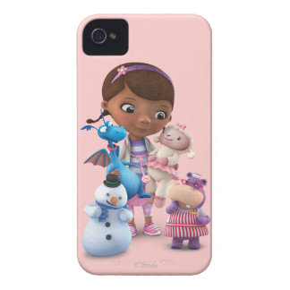 Doc McStuffins and Her Animal Friends iPhone 4 Case-Mate Case