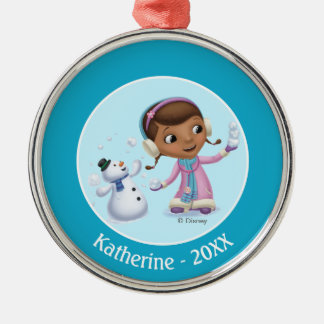 Doc McStuffins | Doc And Chilly Playing In  Snow Christmas Ornament