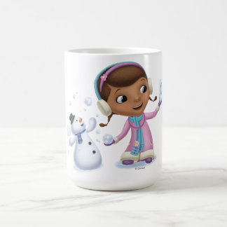 Doc McStuffins | Doc And Chilly Playing In  Snow Coffee Mug