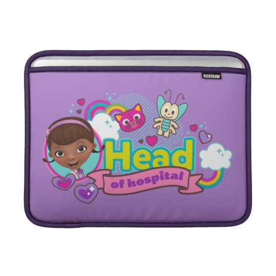 Doc McStuffins | Head of Hospital Sleeve For MacBook Air