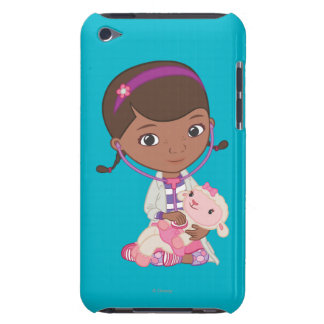 Doc McStuffins Holding Lambie iPod Touch Cover