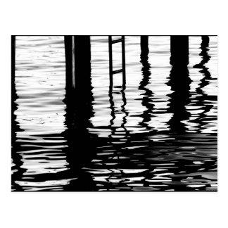 """Dock Grey"" JTG Art Postcard"