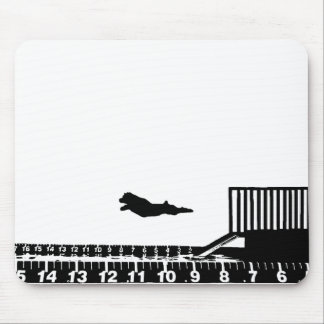 Dock Jumping Mouse Pad