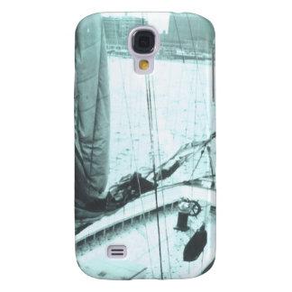 Docked Boat Galaxy S4 Case