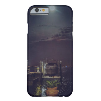 Docked Boat on the Water During a Full Moon Barely There iPhone 6 Case