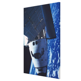 Docked Space Shuttle 2 Canvas Print
