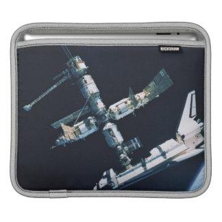 Docked Space Shuttle 2 iPad Sleeve
