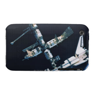 Docked Space Shuttle 2 iPhone 3 Covers