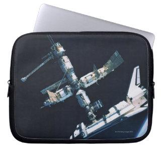 Docked Space Shuttle 2 Laptop Sleeve