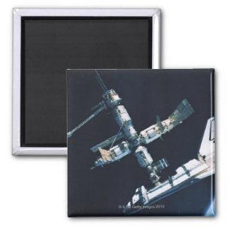 Docked Space Shuttle 2 Magnet