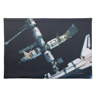 Docked Space Shuttle 2 Placemat